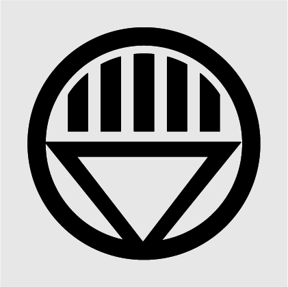 Black Lantern Decal