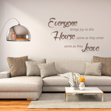 Everyone Brings Joy Wall Decal