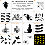 Spooky Crows Decals