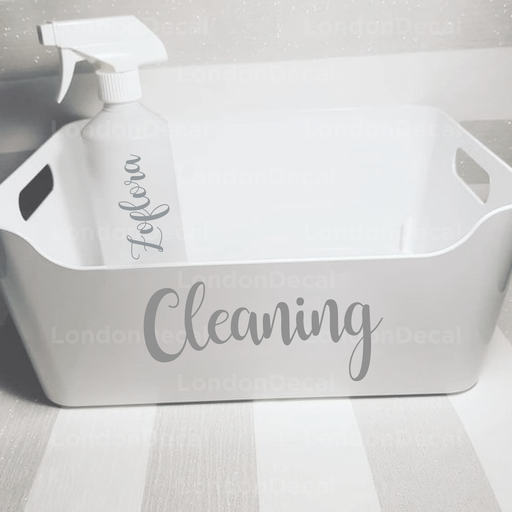 Cleaning - Mrs Hinch Inspired Decals (Type 3)