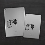 Graffiti iPad Decal