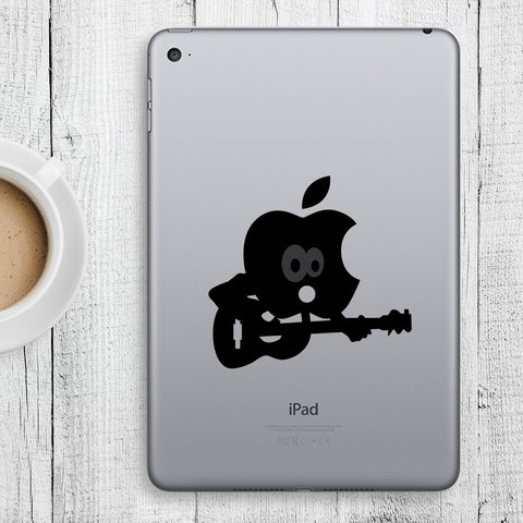 Guitar iPad Decal