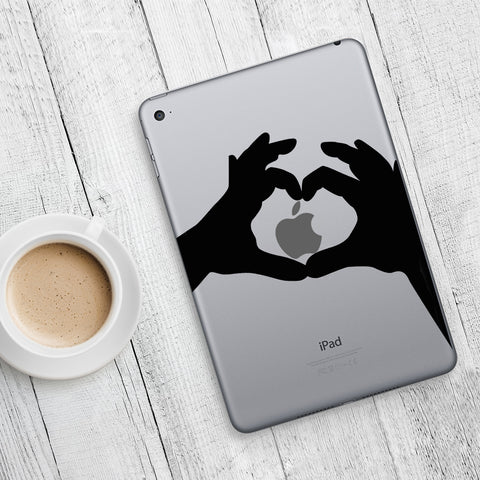 Heart Hands iPad Decal