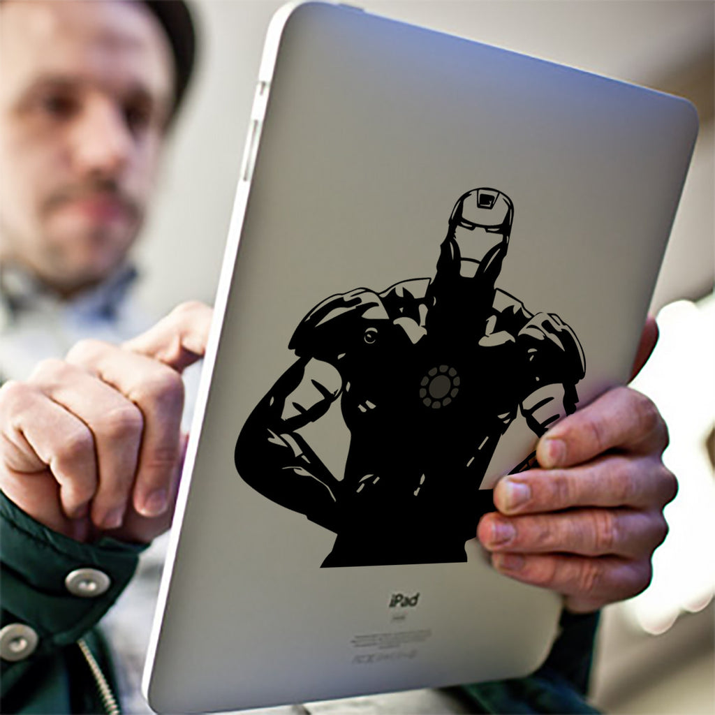 Iron Man iPad Decal