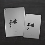 Stick Man iPad Decal