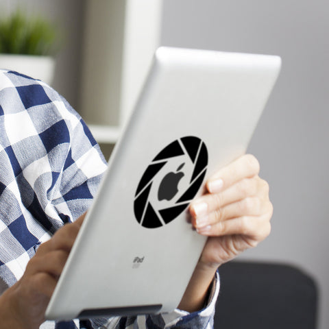 Aperture iPad Decal