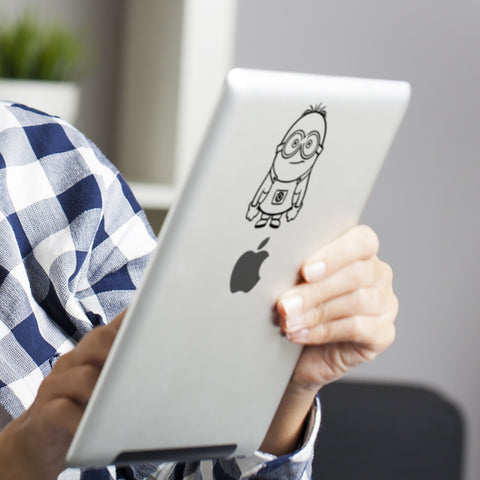 Minion iPad Decal