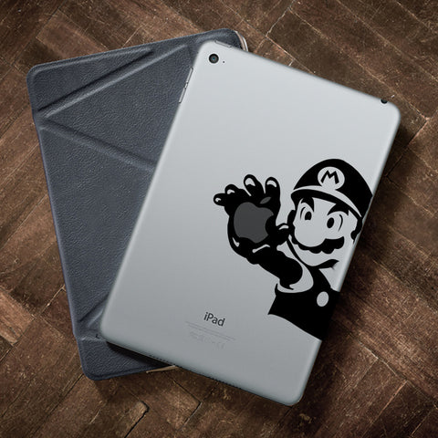 Super Mario iPad Decal