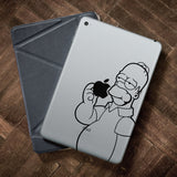 Homer Simpson iPad Decal