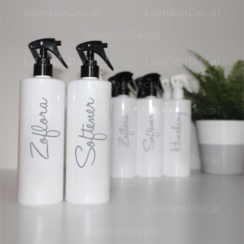 ZOFLORA AND SOFTENER - Mrs Hinch inspired spray bottle decals