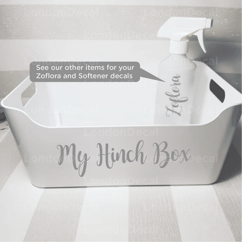 MY HINCH BOX - Mrs Hinch inspired decal (Type 3)