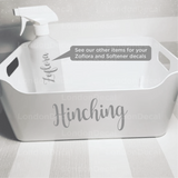 HINCHING - Mrs Hinch Inspired Decals (Type 3)