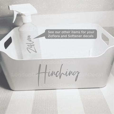 HINCHING - Mrs Hinch inspired decal stickers (Type 2)