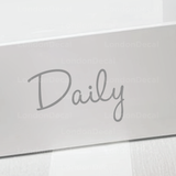 DAILY AND WEEKLY - Mrs Hinch inspired decal stickers
