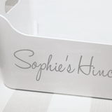 'YOUR NAME' HINCH BOX - Mrs Hinch inspired decal sticker