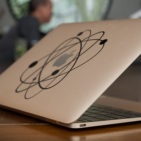 Atom Macbook Decal