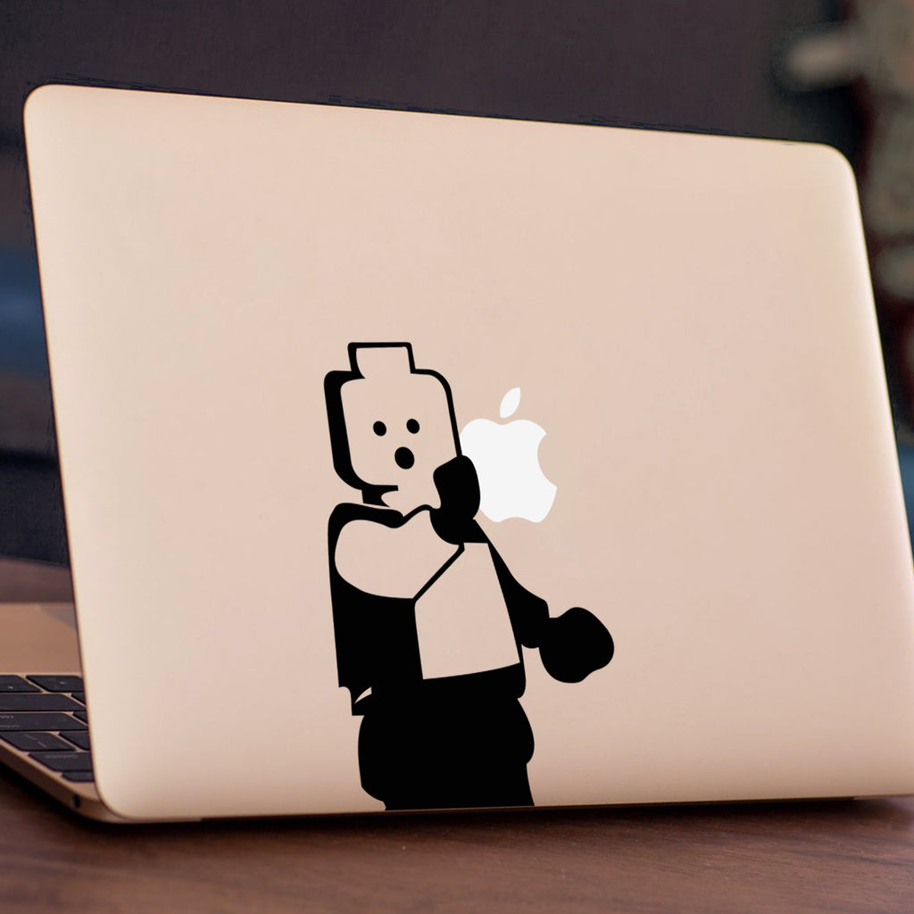 Large Legoman Macbook Decal