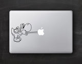 Yoshi Macbook Decal