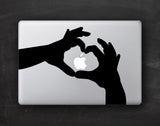 Love Hands Macbook Decal