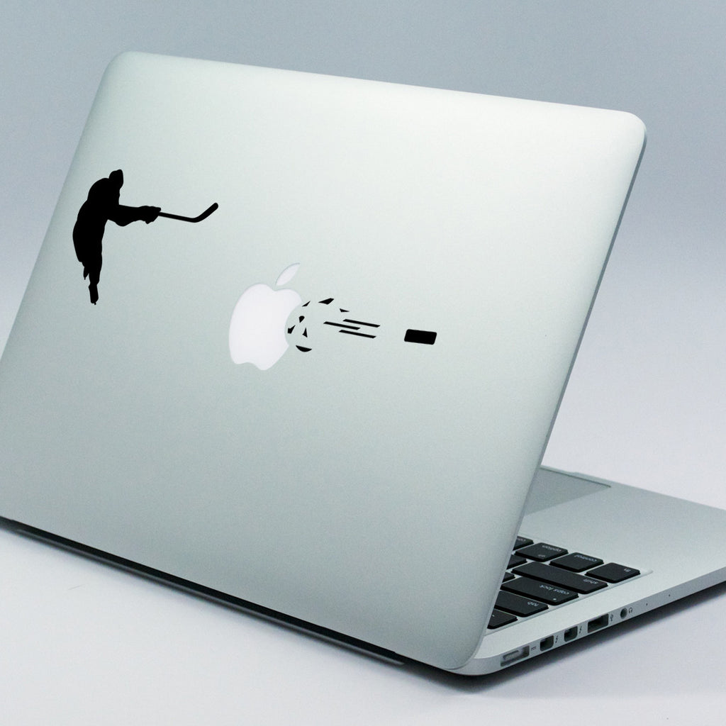 Ice Hockey Macbook Decal