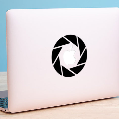 Aperture Macbook Decal