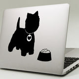 Westie Macbook Decal