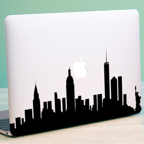 New York Skyline Macbook Decal