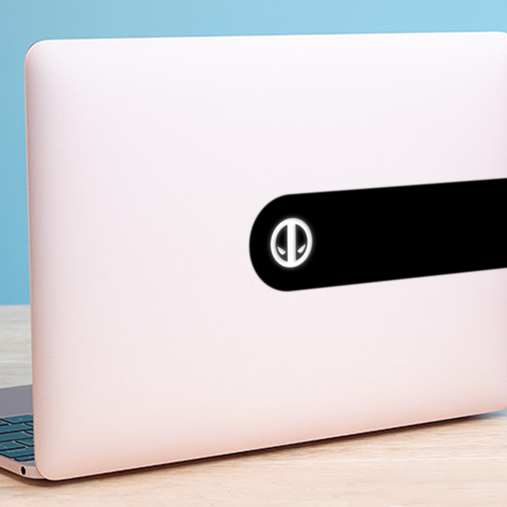 Deadpool Logo Macbook Decal