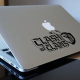 Clash of Clans Macbook Decal