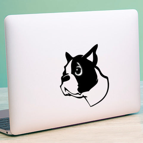 Dogs Head Macbook Decal