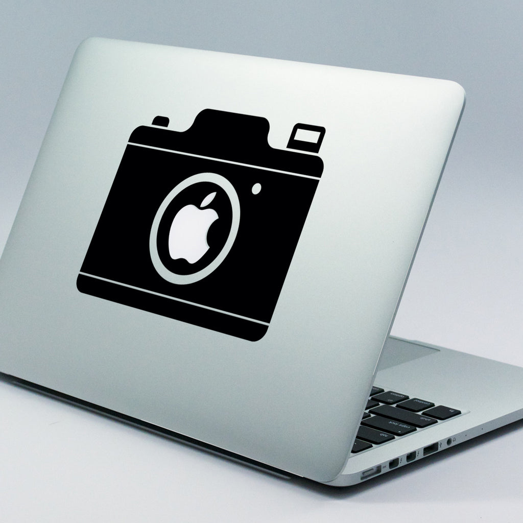Old Camera Macbook Decal