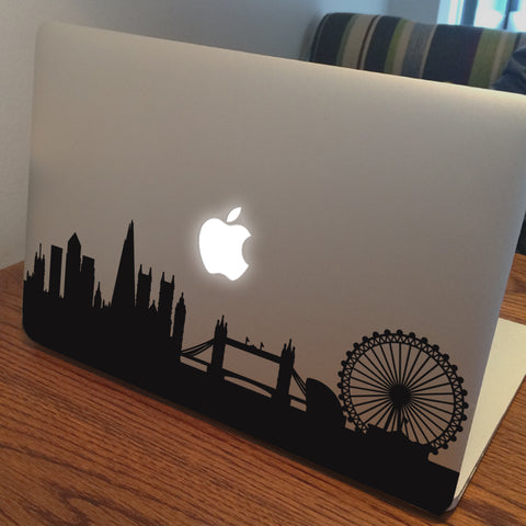 London Skyline Macbook Decal