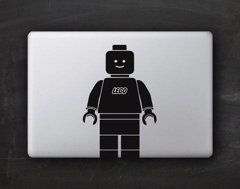 Legoman Macbook Decal