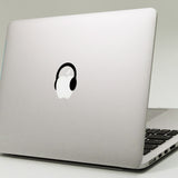 Small Headphones Macbook Decal