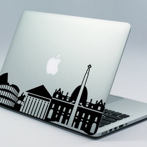 Rome Skyline Macbook Decal