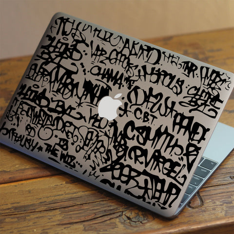Graffiti Macbook Decal
