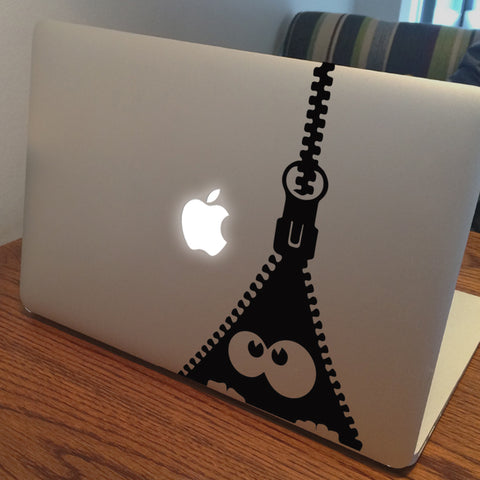 Zipper Macbook Decal