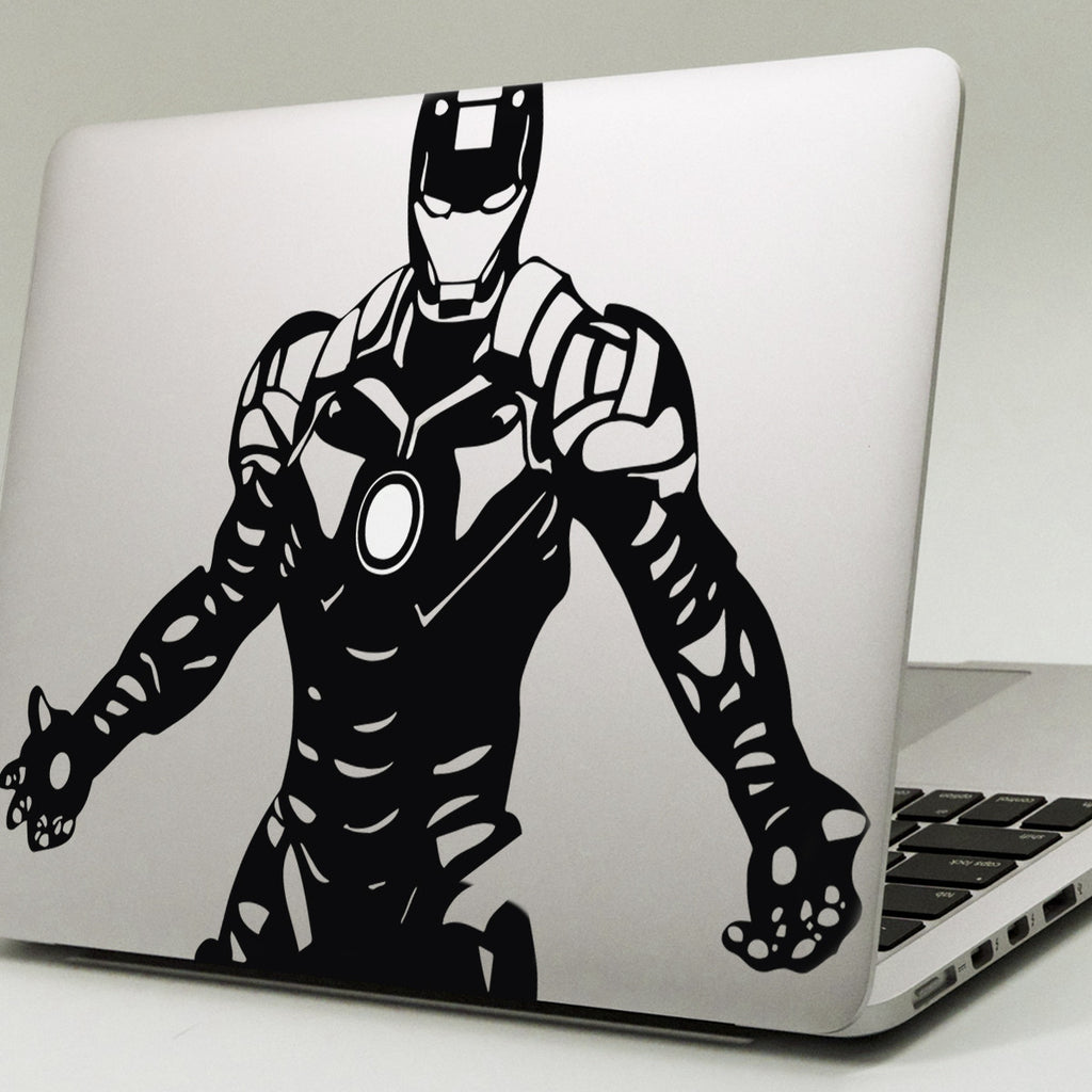 Iron Man Upper Body Macbook Decal