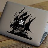 Pirate Ship Macbook Decal