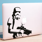 Storm Trooper Macbook Decal