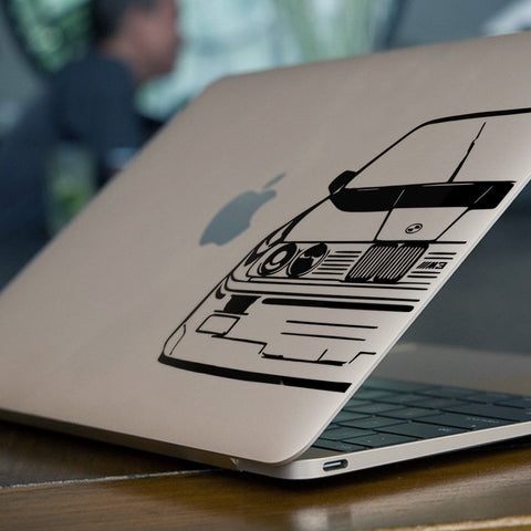 BMW Macbook Decal