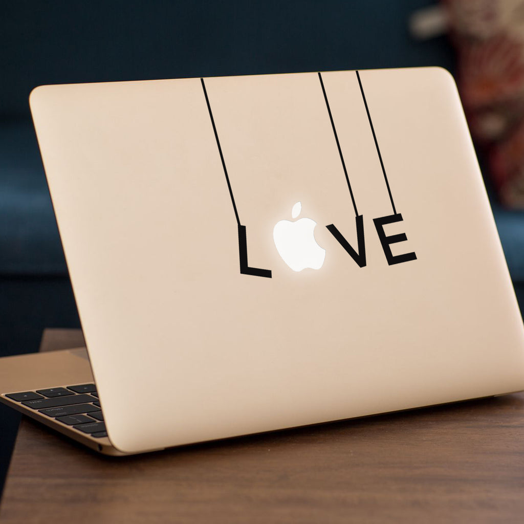 Love Letters Macbook Decal