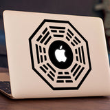 Dharma Initiative Macbook Decal