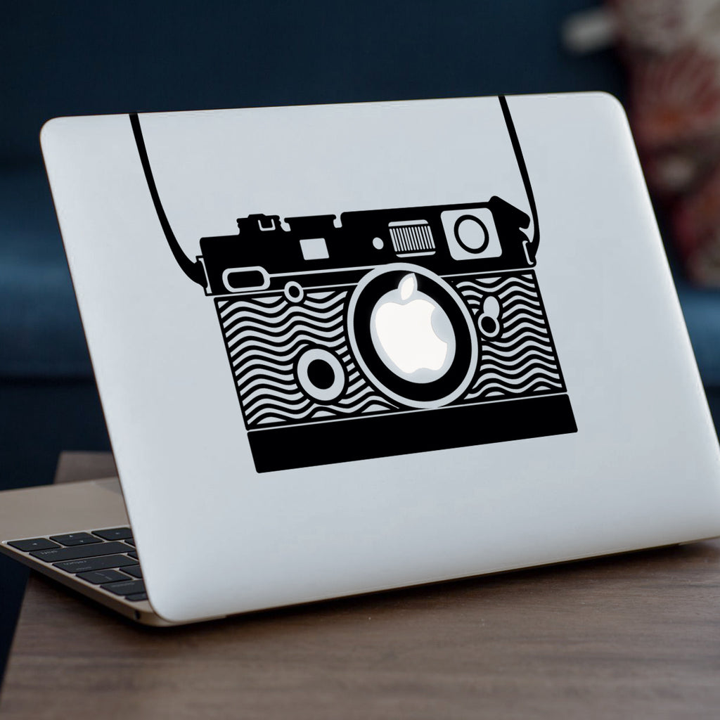90s Camera Macbook Decal