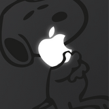 Snoopy Cuddle Macbook Decal