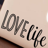 Love Life Macbook Decal