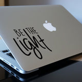 Be the Light Macbook Decal