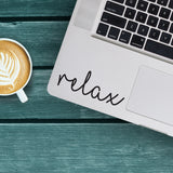 Relax Macbook Decal