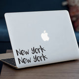New York New York Macbook Decal