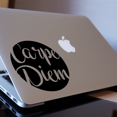 Carpe Diem Macbook Decal